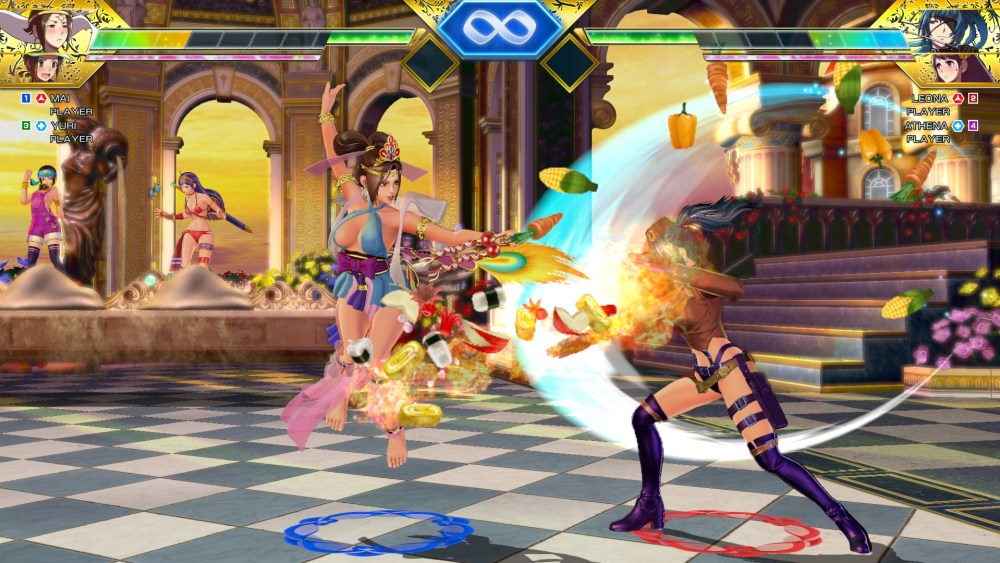 SNK Heroines: Tag Team Frenzy Review Screenshot 2