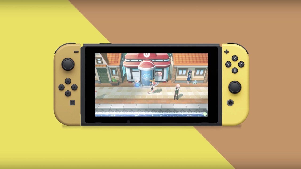 Special Nintendo Switch Pikachu And Eevee Edition Bundles Revealed