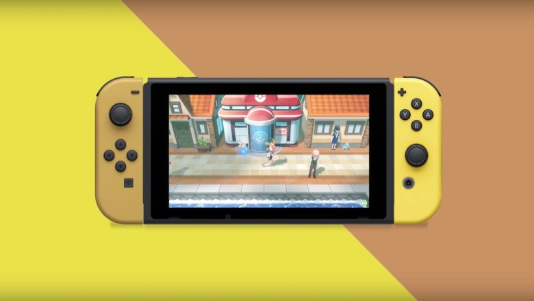Special Nintendo Switch Pikachu And Eevee Edition
