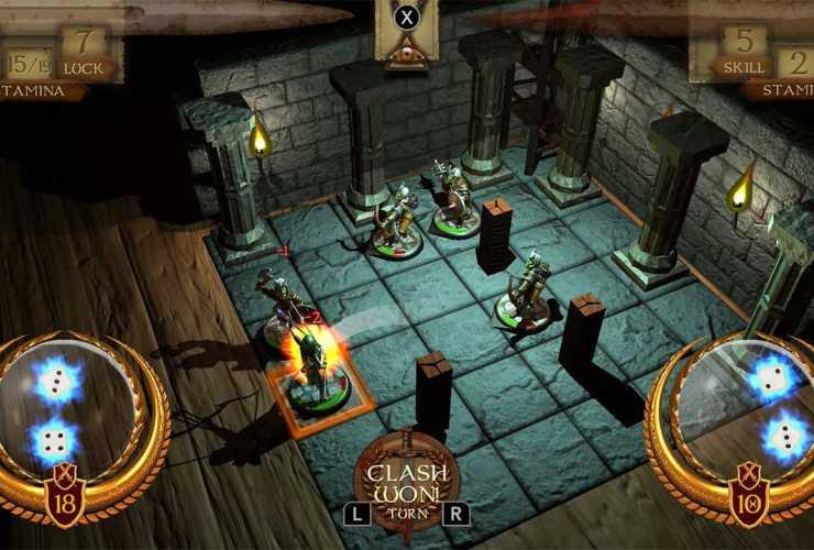 The Warlock Of Firetop Mountain: Goblin Scourge Edition Screenshot