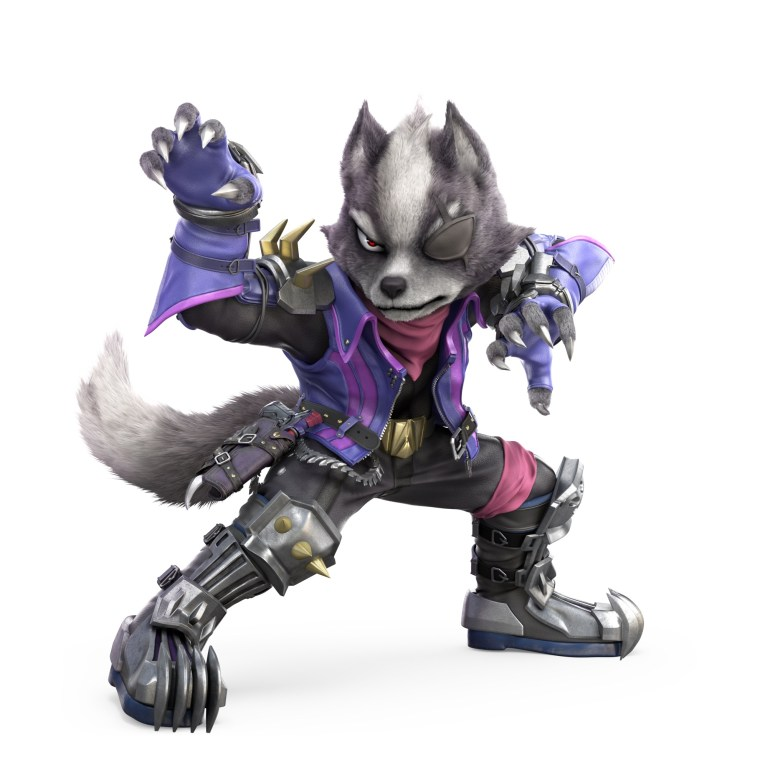 Wolf Super Smash Bros. Ultimate Character Render