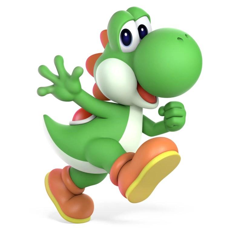 Yoshi Super Smash Bros. Ultimate Character Render