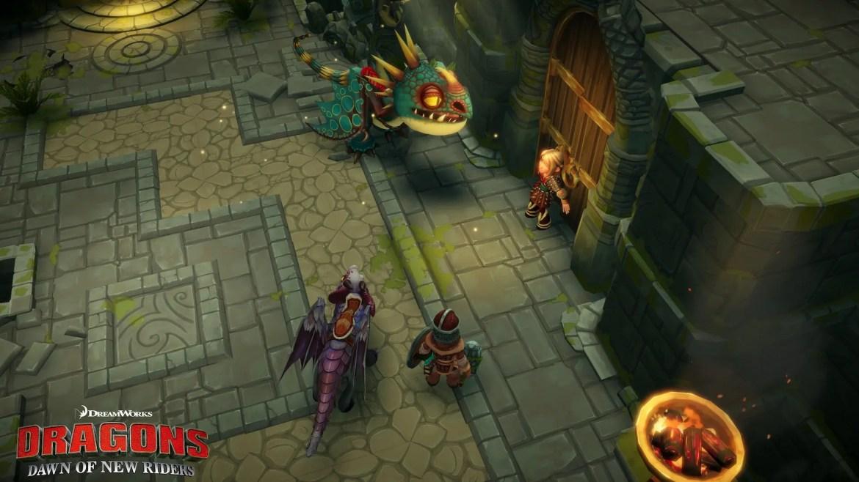 DreamWorks Dragons Dawn of New Riders Screenshot 2