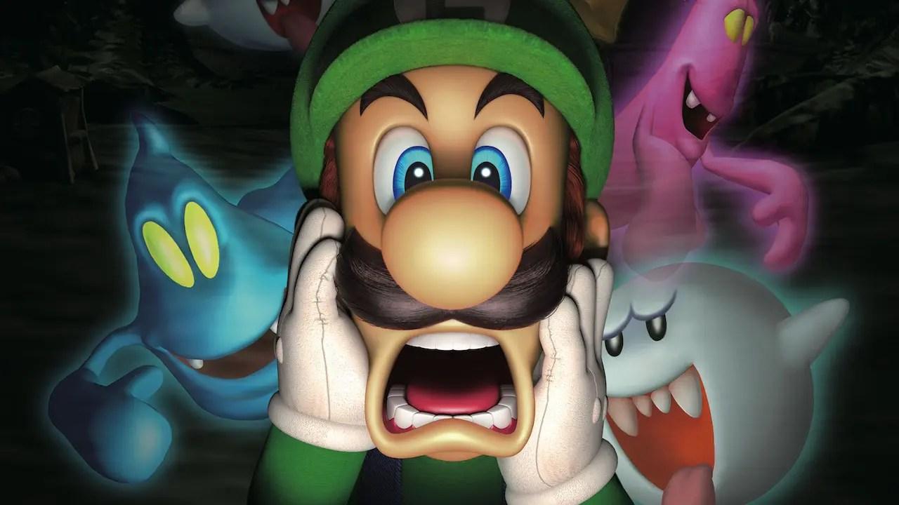 Luigi's Mansion Review Header