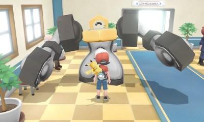 Melmetal Pokémon Let's Go, Pikachu! Screenshot