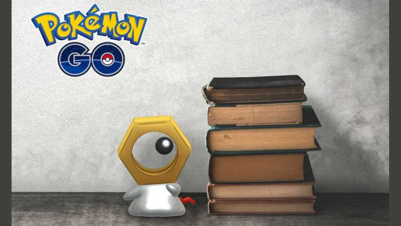 Meltan Pokémon GO Key Art