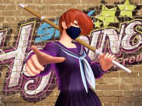 MissX SNK Heroines Tag Team Frenzy Screenshot