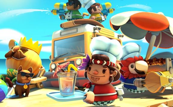 Overcooked 2: Surf 'N' Turf Review Header
