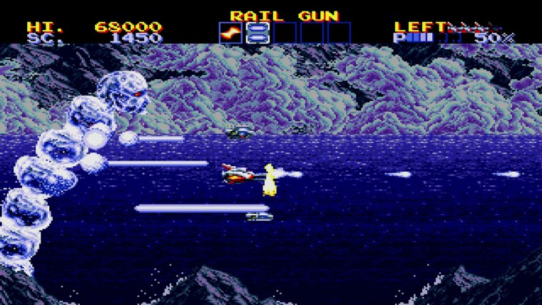 SEGA AGES Lightening Force: Quest For The Darkstar Review Screenshot 1