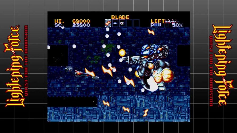 SEGA AGES Lightening Force: Quest For The Darkstar Review Screenshot 2
