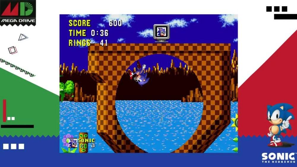 SEGA AGES Sonic The Hedgehog Review Screenshot 1