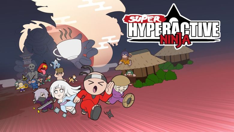 Super Hyperactive Ninja Key Art