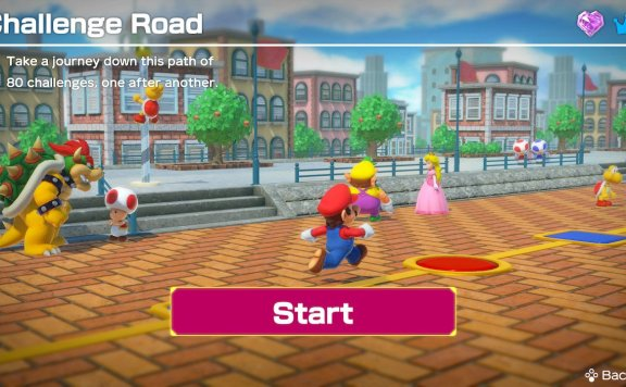 Super Mario Party Challenge Road Screenshot
