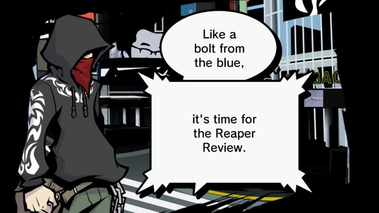 The World Ends With You: Final Remix Reaper Review Screenshot