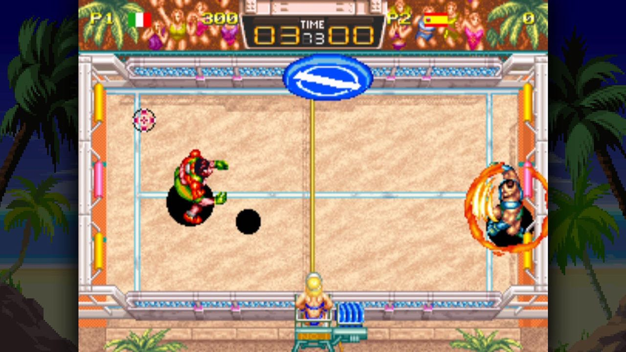Windjammers Review Screenshot 1