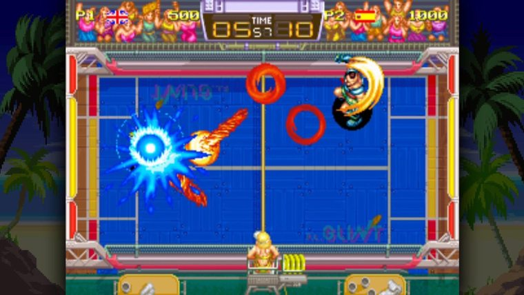 Windjammers Review Screenshot 2