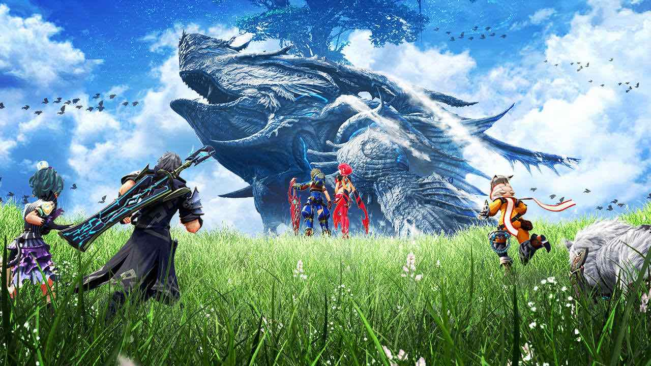 Xenoblade Chronicles 2 Key Art