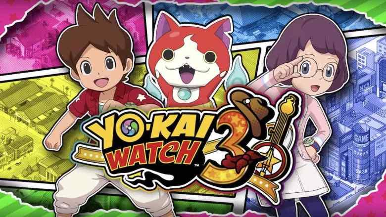 Yo-Kai Watch 3 Key Art