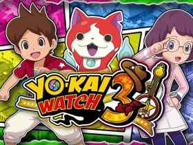 Yo-Kai Watch 3 Key Art