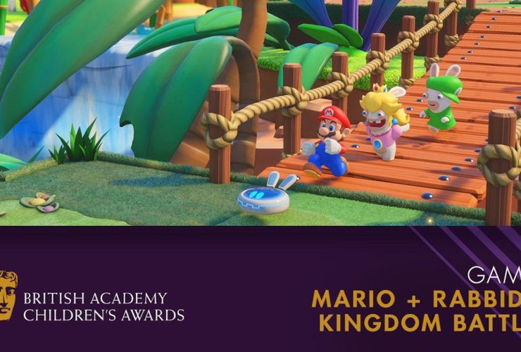 BAFTA Mario + Rabbids Kingdom Battle Screenshot