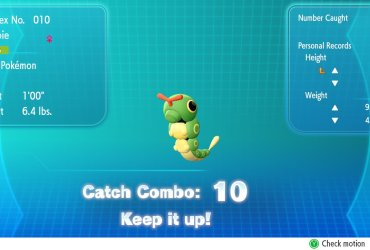 Catch Combo Pokémon Let's Go Screenshot