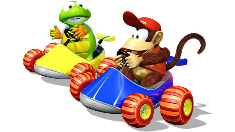Diddy Kong Racing Key Art
