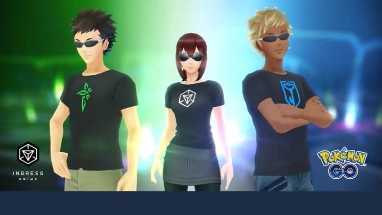 Ingress Prime Free Pokémon GO T-Shirts Screenshot