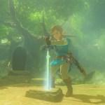 Link The Legend of Zelda Breath of the Wild Screenshot