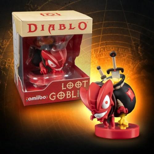 Loot Goblin amiibo Diablo III Eternal Collection Photo