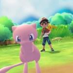 Mew Pokémon Let's Go Screenshot