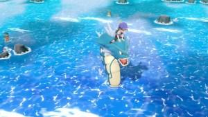 Pokémon Let's Go Fishing Screenshot