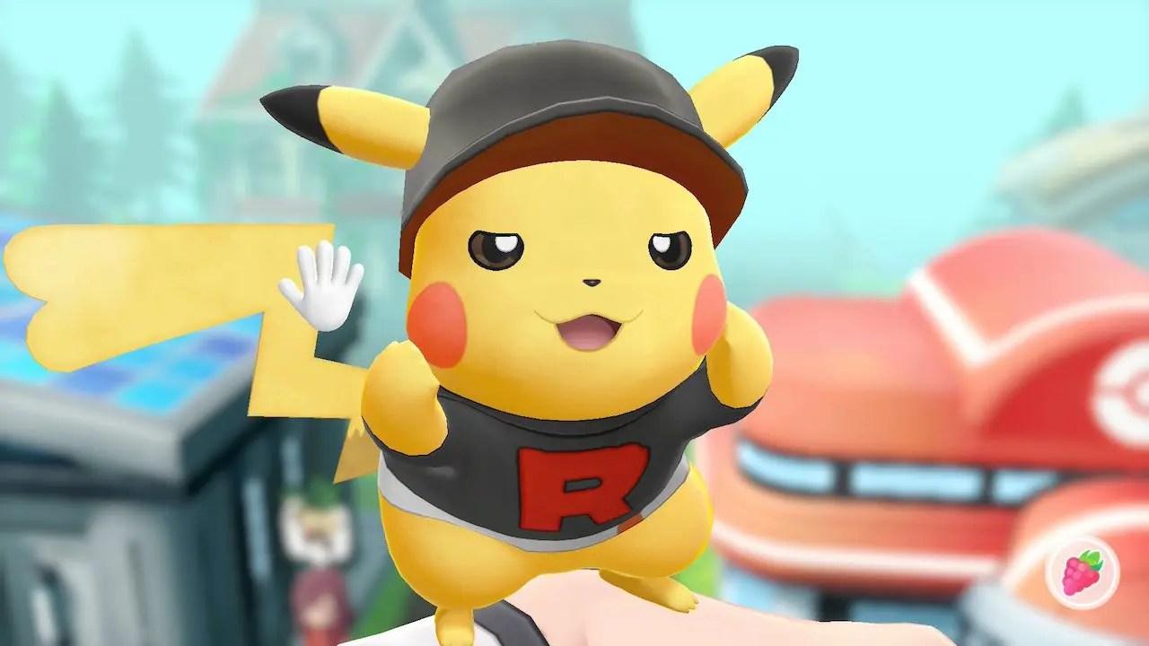 Pokémon Let's Go Outfits Screenshot