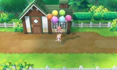 Pokémon Let's Go Sky Dash Screenshot
