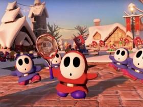 Shy Guy Mario Tennis Aces Screenshot
