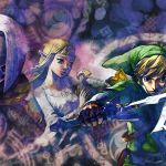 The Legend of Zelda: Skyward Sword Key Art
