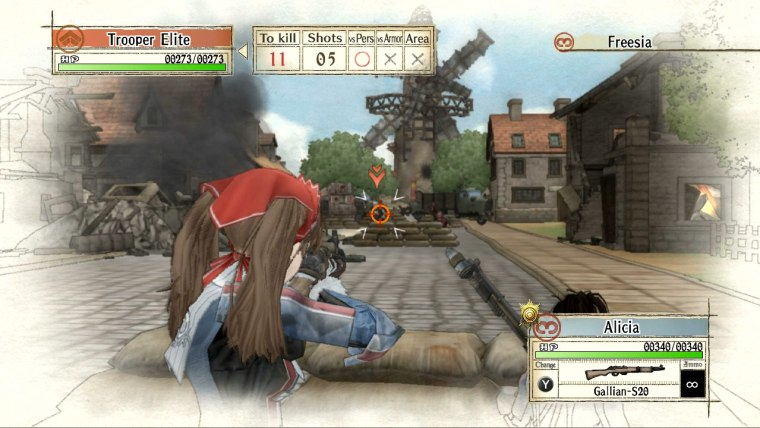 Valkyria Chronicles Review Screenshot 2