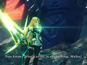 Massive Melee Mythra Aux Core Xenoblade Chronicles 2 Screenshot