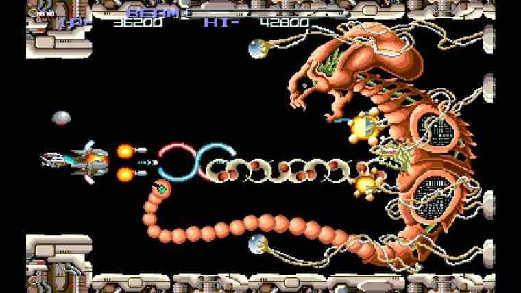 R-Type Dimensions EX Review Screenshot 2