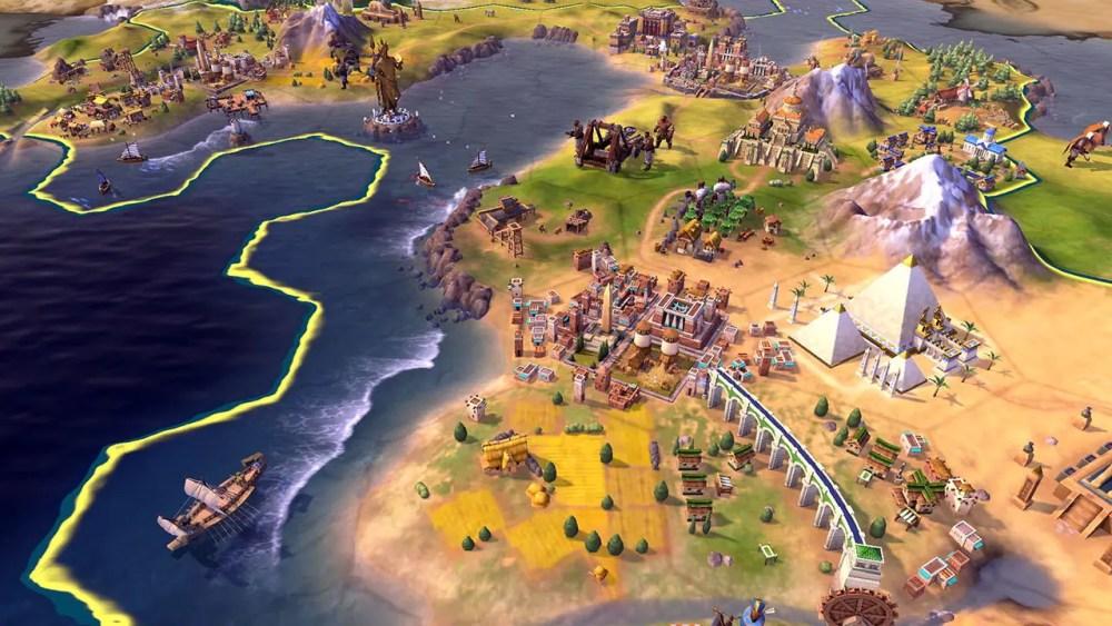 Sid Meier's Civilization VI Review Screenshot 1