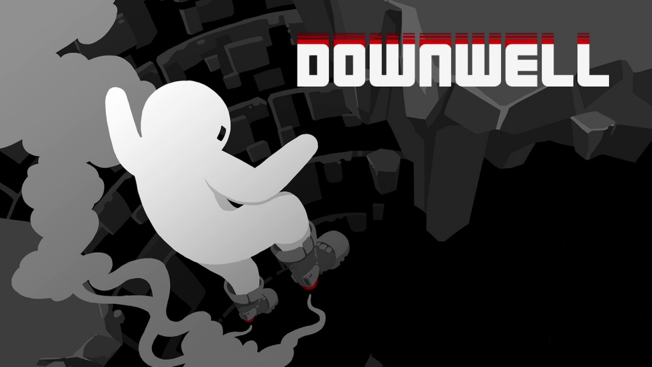 Downwell Key Art