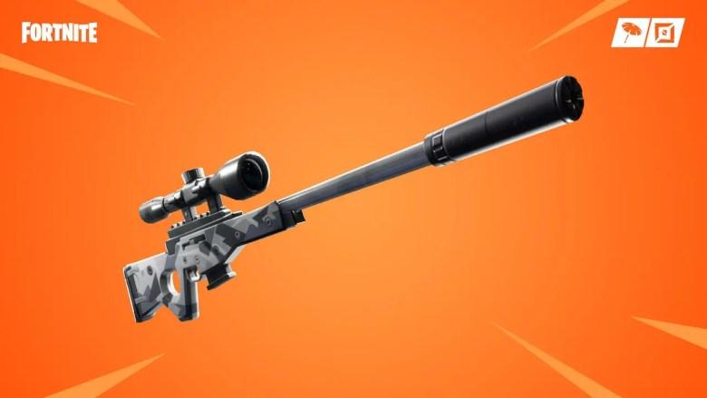 Fortnite Surpressed Sniper Rifle Image