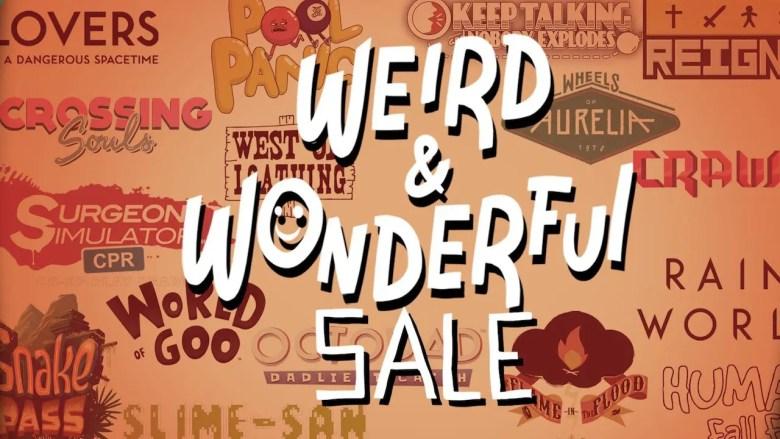 Nintendo eShop Weird And Wonderful Sale Image