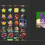 Nintendo Switch User Icons Screenshot