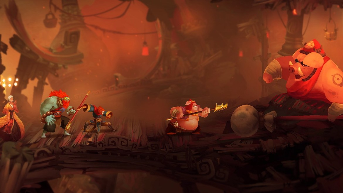 Unruly Heroes Review Screenshot 1