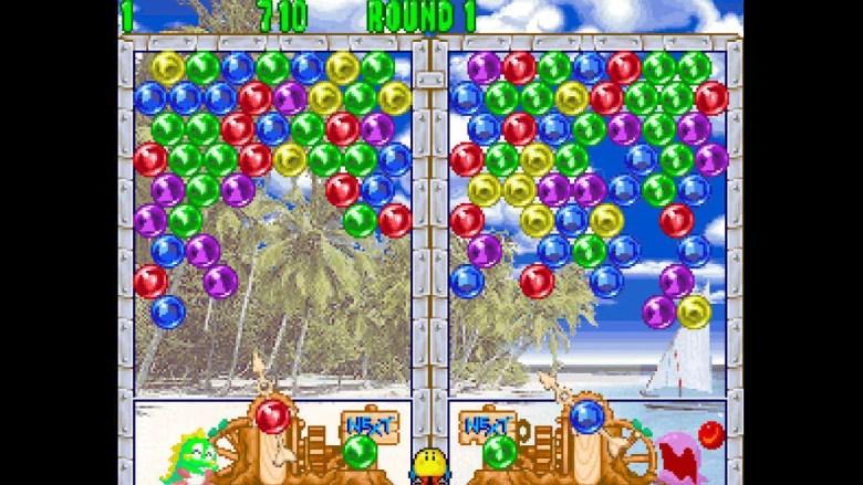 ACA NEOGEO Puzzle Bobble 2 Screenshot