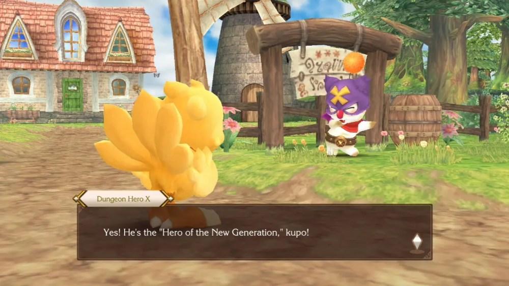 Chocobo's Mystery Dungeon: Every Buddy! Switch Screenshot 2