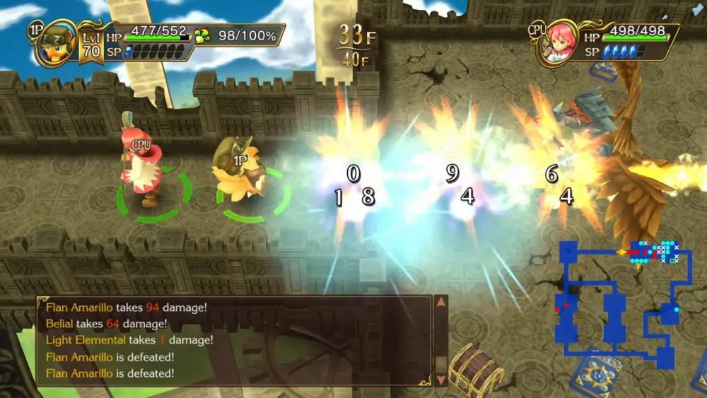 Chocobo's Mystery Dungeon: Every Buddy! Switch Screenshot 4