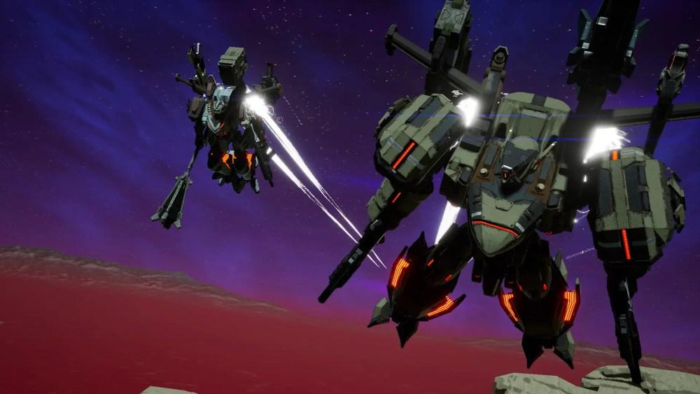 Daemon X Machina Screenshot 1