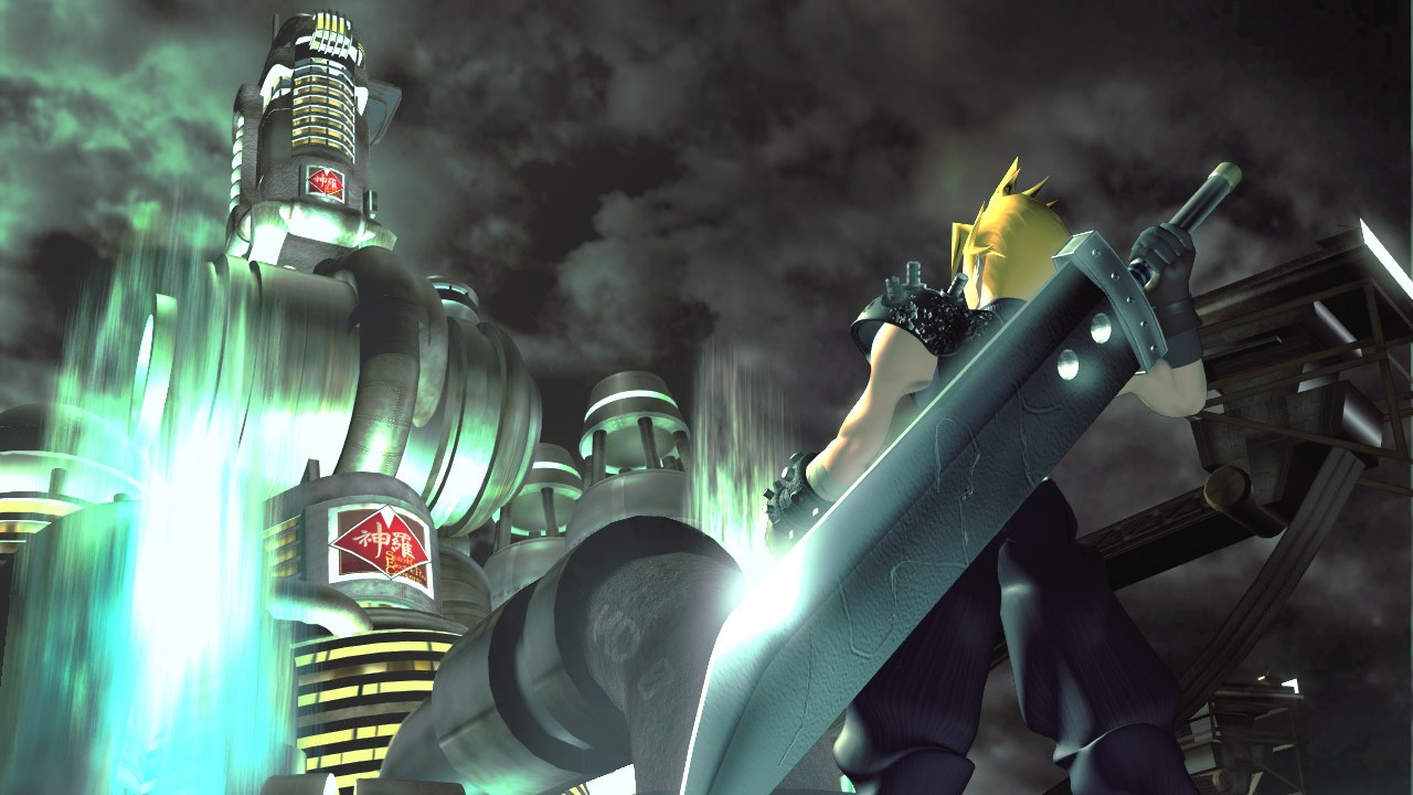 Final Fantasy VII Key Art