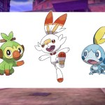 Grookey Scorbunny Sobble Pokémon Screenshot